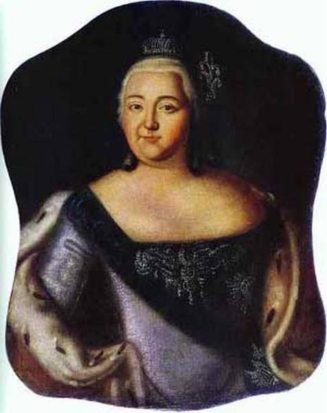 Portrait of empress elizaveta petrovna 1750s xx the tula regional art museu tula russia